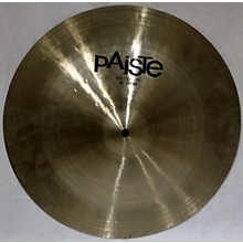 Paiste 16in Prototype China Cymbal