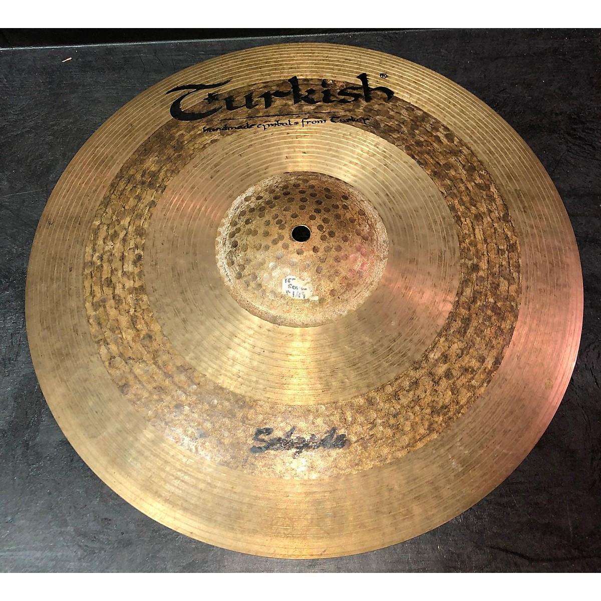 Turkish 16in Sehzade Crash Cymbal
