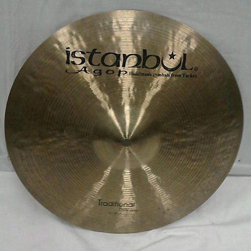 Istanbul Agop 16in Traditional Thin Crash Cymbal