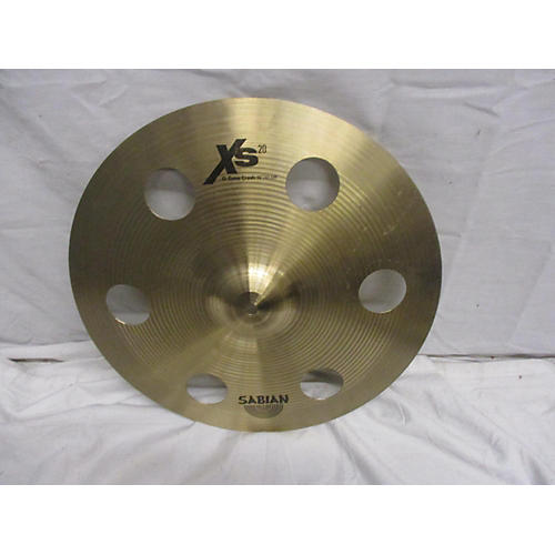 used sabian 16in xs20 ozone crash cymbal 36 guitar center. Black Bedroom Furniture Sets. Home Design Ideas