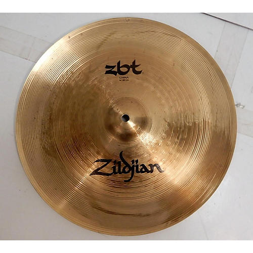 used zildjian 16in zbt china cymbal 36 guitar center. Black Bedroom Furniture Sets. Home Design Ideas