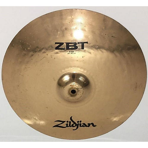 used zildjian 16in zbt crash cymbal 36 guitar center. Black Bedroom Furniture Sets. Home Design Ideas