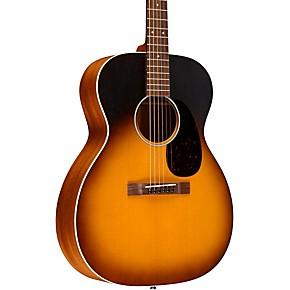 Martin 17 Series 000-17E Auditorium Acoustic-Electric Guitar Black Smoke