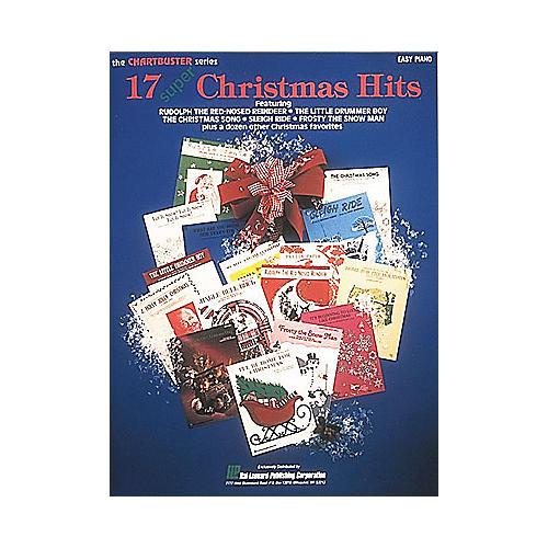 Hal Leonard 17 Super Christmas Hits For Easy Piano