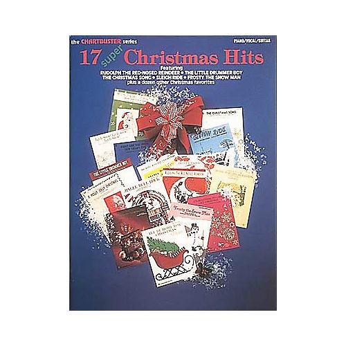 Hal Leonard 17 Super Christmas Hits Piano/Vocal/Guitar Songbook