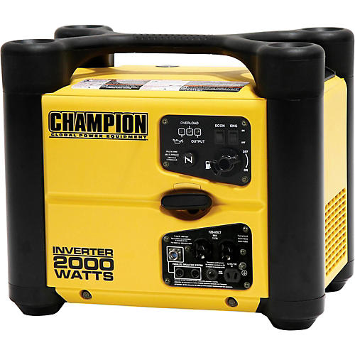 Champion Power Equipment 1700/2000 Watt Portable Gas-Powered Inverter Generator
