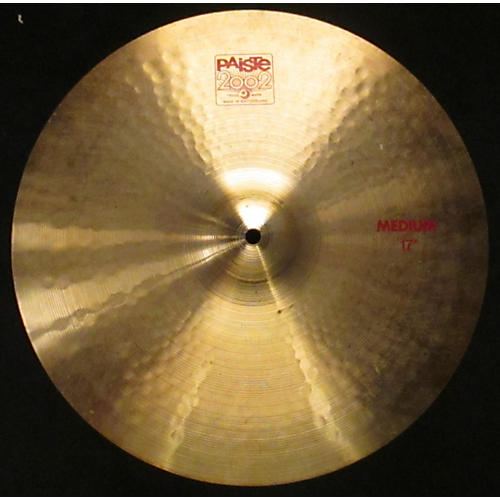 Paiste 17in 2002 Medium Cymbal