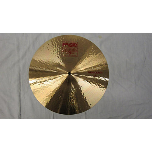 Paiste 17in 2002 Thin Crash Cymbal