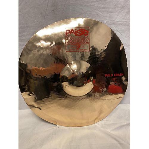 Paiste 17in 2002 Wild Crash Cymbal