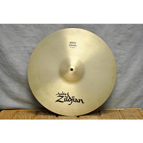 used zildjian 17in a series rock crash cymbal 37 guitar center. Black Bedroom Furniture Sets. Home Design Ideas