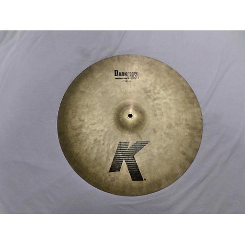 Zildjian 17in K Medium Dark Thin Crash Cymbal