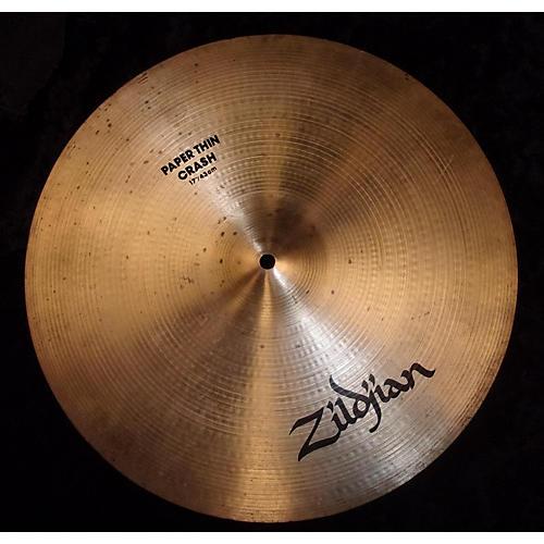 Zildjian 17in PAPER THIN CRASH Cymbal