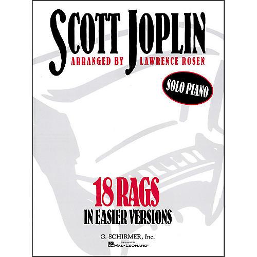 Hal Leonard 18 Rags in Easier Versions