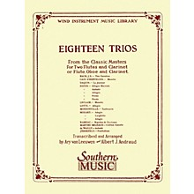 Southern 18 Trios (Complete) from Classic Master (Woodwind Trio) Southern Music Series Arranged by Albert Andraud