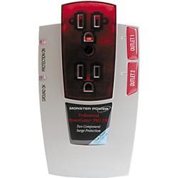 Monster Power Powercenter Pro 200 Translucent Red