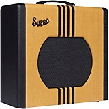 Supro 1822 Delta King 12 15W 1x12 Tube Guitar Amp Tweed and Black