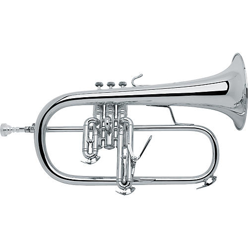 Current price for the Bach Stradivarius Professional Flugelhorn Model 183- Silver-Plated Finish