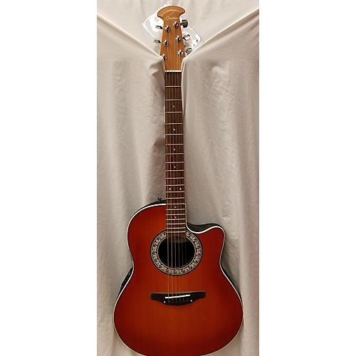 Ovation 1861 Standard Balladeer Acoustic Electric Guitar