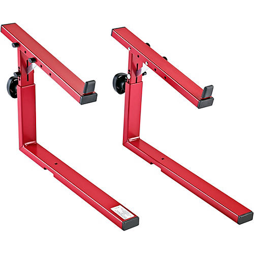 K&M 18813 Omega Keyboard Stacker - Red