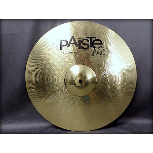 Paiste 18in 101 Brass Crash Ride Cymbal