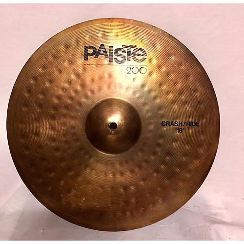 Paiste 18in 200 CRASH/RIDE Cymbal