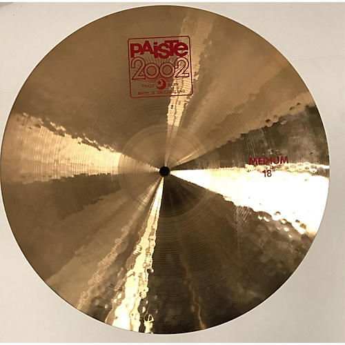 Paiste 18in 2002 Medium Crash Cymbal