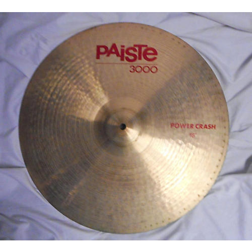 Paiste 18in 3000 Power Crash Cymbal