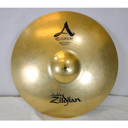 Zildjian 18in A Custom Fast Crash Cymbal