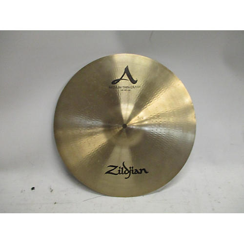 Zildjian 18in A Custom Medium Thin Crash Cymbal