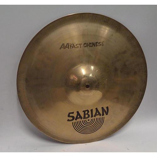 Sabian 18in AA FAST CHINESE Cymbal