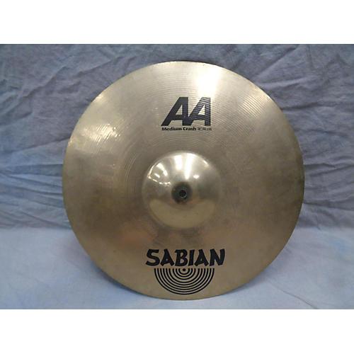 Sabian 18in AA Medium Crash Cymbal