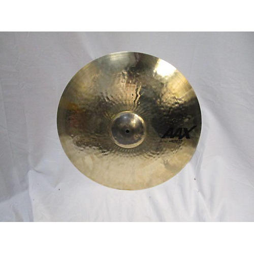 used sabian 18in aax thin crash cymbal 38 guitar center. Black Bedroom Furniture Sets. Home Design Ideas