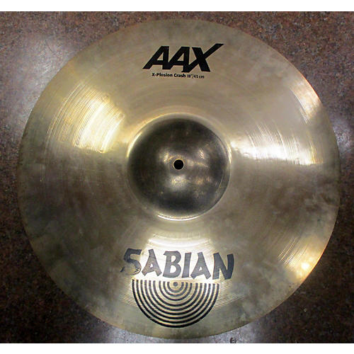 used sabian 18in aax xplosion crash cymbal 38 guitar center. Black Bedroom Furniture Sets. Home Design Ideas