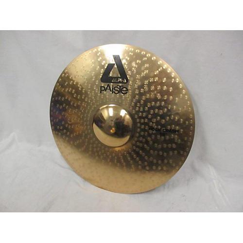 Paiste 18in ALPHA ROCK CRASH Cymbal