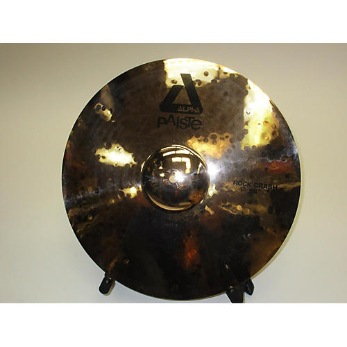 used paiste 18in alpha rock cymbal 38 guitar center. Black Bedroom Furniture Sets. Home Design Ideas