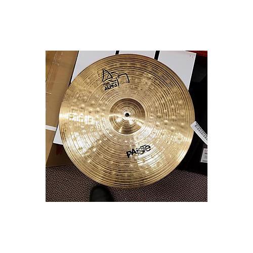 Paiste 18in Alpha Thin Crash Cymbal