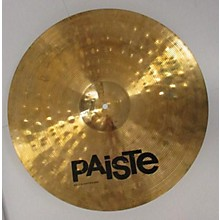 Paiste 18in Alpha Thin Crash Cymbal