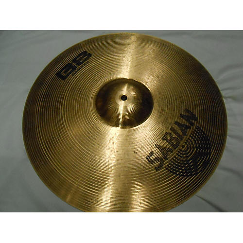 used sabian 18in b8 crash ride cymbal 38 guitar center. Black Bedroom Furniture Sets. Home Design Ideas