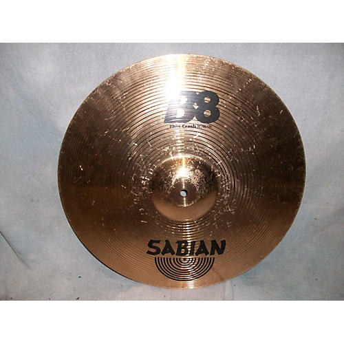 Sabian 18in B8 Thin Crash Cymbal