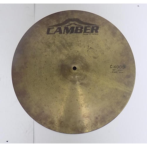 used camber 18in c4000 crash ride cymbal 38 guitar center. Black Bedroom Furniture Sets. Home Design Ideas