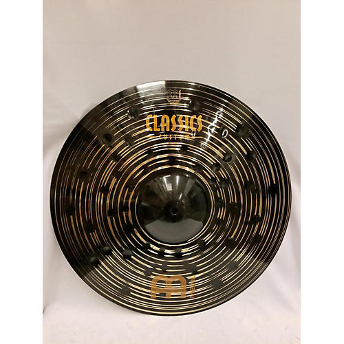 Meinl 18in Classic Custom Dark Crash Cymbal