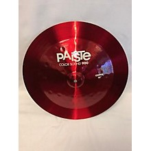 Paiste 18in Colorsound 900 China Cymbal