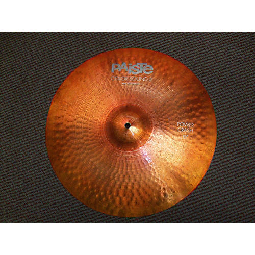 Paiste 18in Colorsound Crash Cymbal