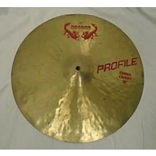 Meinl 18in Dragon China Crash Cymbal