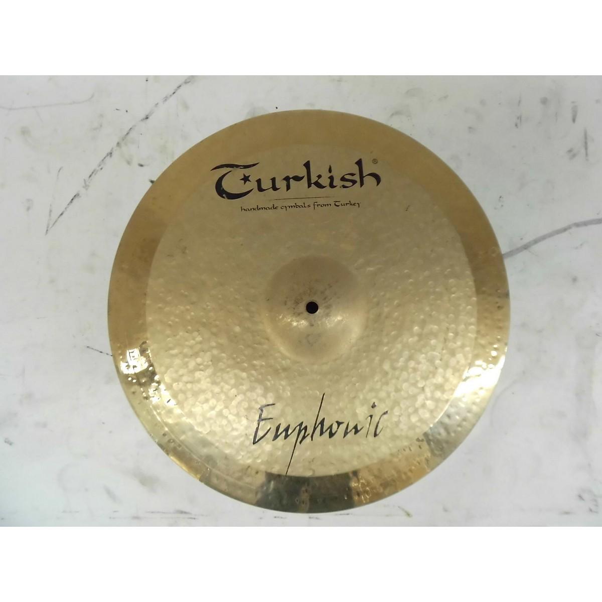 Turkish 18in Euphonic Crash Cymbal