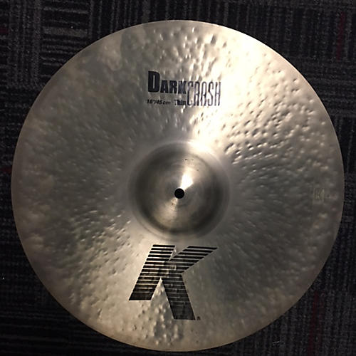 Zildjian 18in K Thin Dark Crash Cymbal