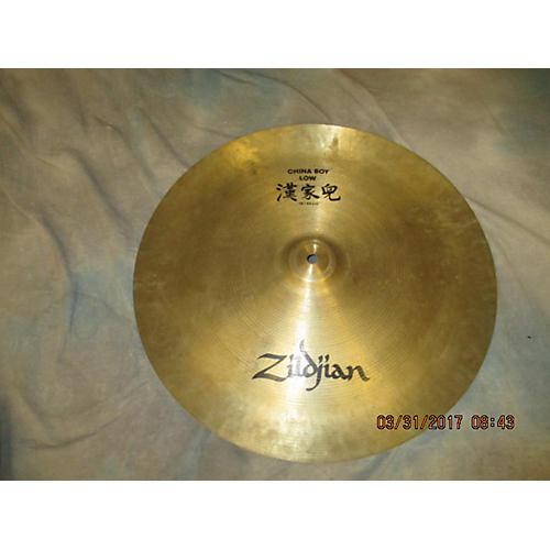Zildjian 18in Low China Boy Cymbal
