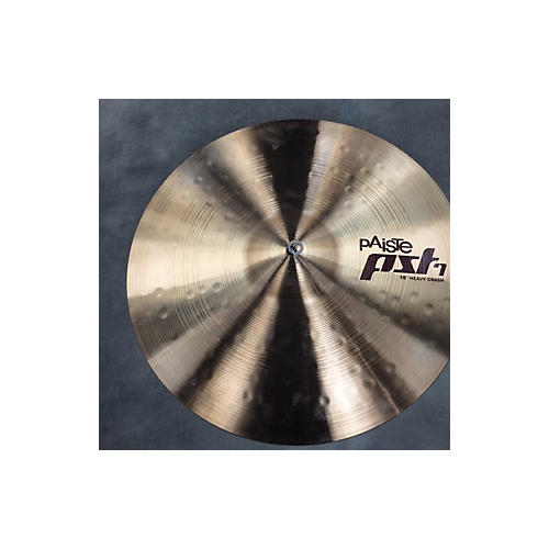Paiste 18in PST7 18 HEAVY CRASH Cymbal