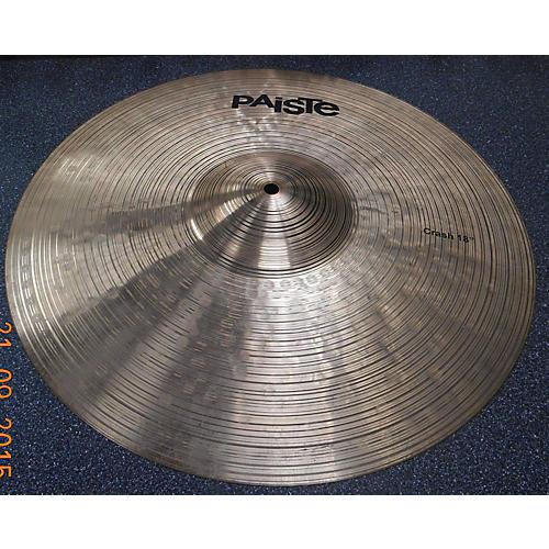 Paiste 18in Prototype Crash Cymbal