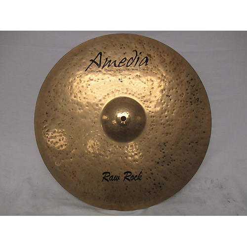 Amedia 18in Raw Rock Cymbal
